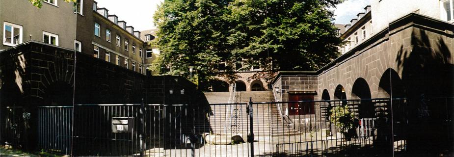 Phönix-Haus Düsseldorf, ehemaliges Arbeitsamt